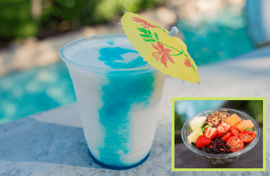 Blue Typhoon Colada from Typhoon Lagoon Water Park