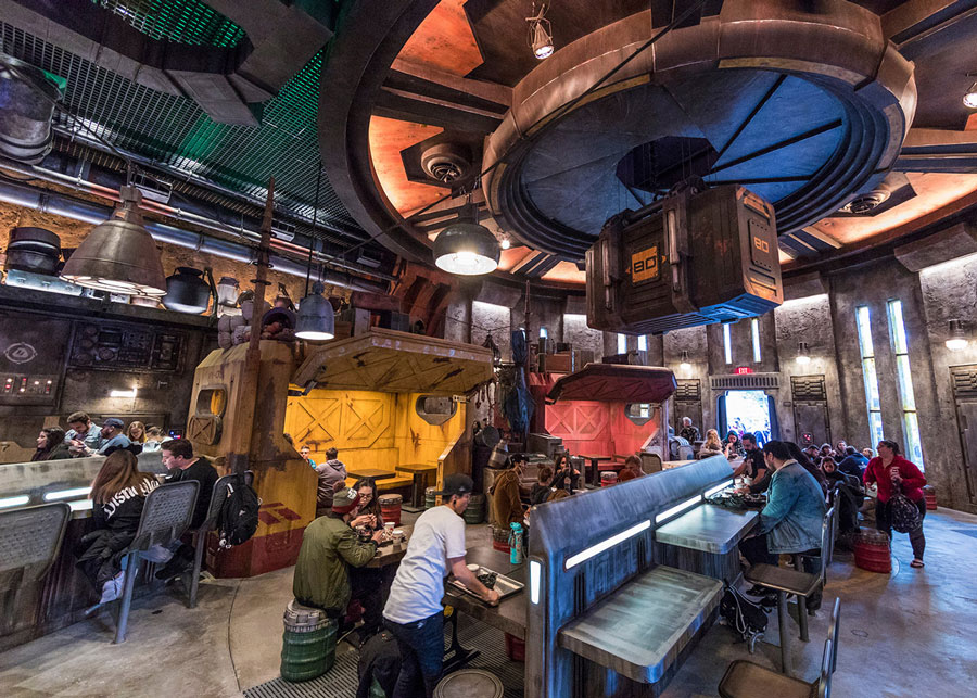 Docking Bay 7 Food and Cargo in Star Wars: Galaxy's Edge