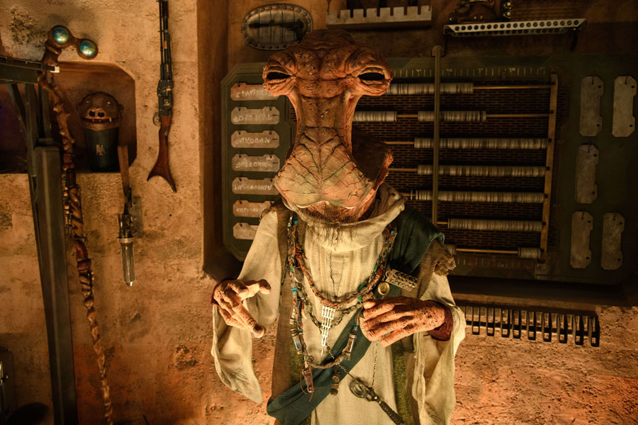Dok Ondar's Den of Antiquities in Star Wars: Galaxy's Edge