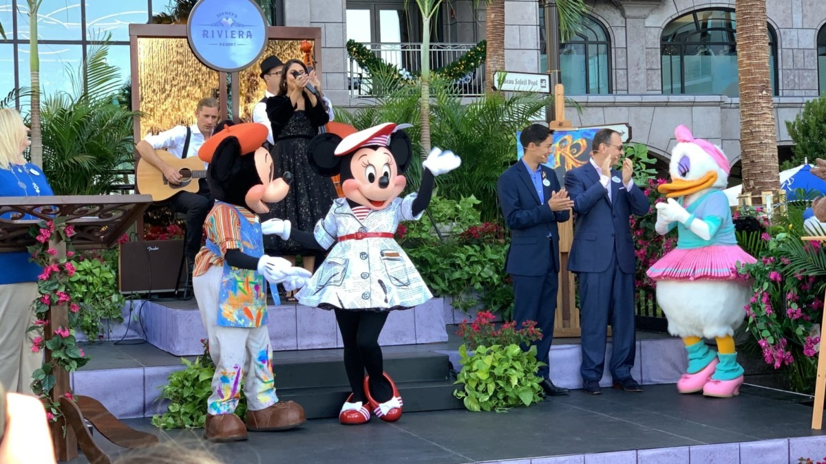 See Photos and Video from Opening Day of Disney's Riviera Resort! 3