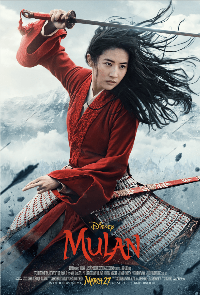 """New Trailer and Poster for Disney's """"Mulan"""" 1"""