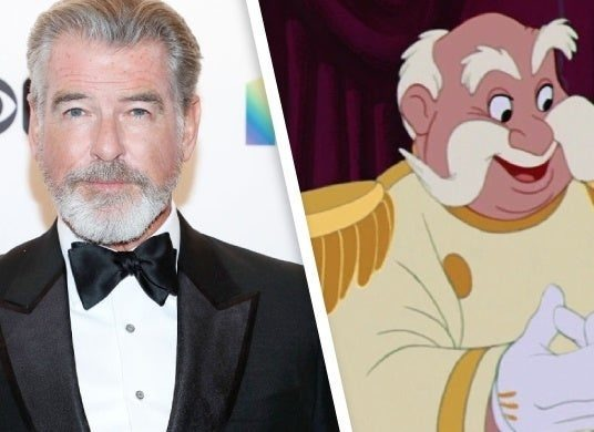 Live-Action Cinderella Reboot Adds Pierce Brosnan as The King 1