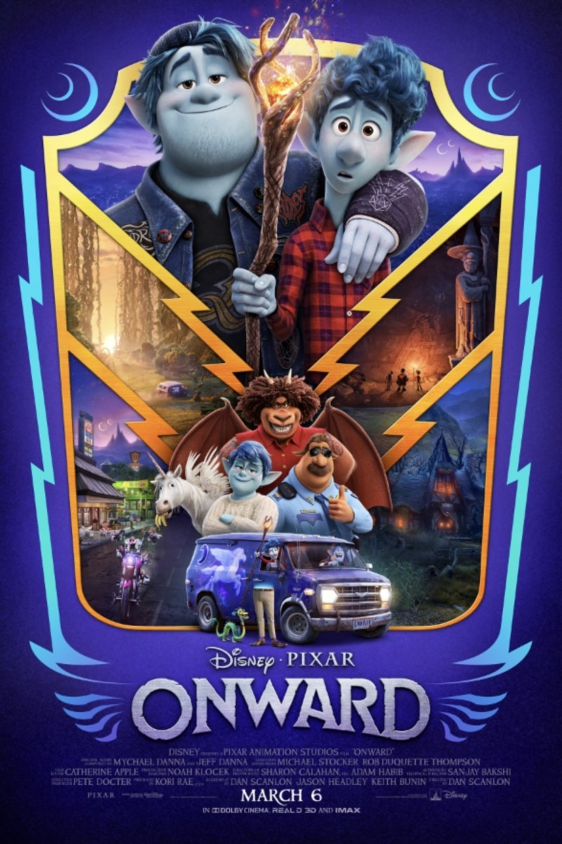 "Disney and Pixar's ""Onward""--See the New Trailer & Poster 1"