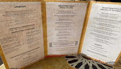 Disney Destination ~ Spice Road Table 2