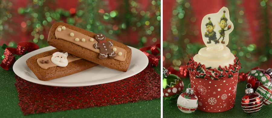 Gingerbread Cookies and Cupcake for Holidays 2019 at Disney's Hollywood Studios