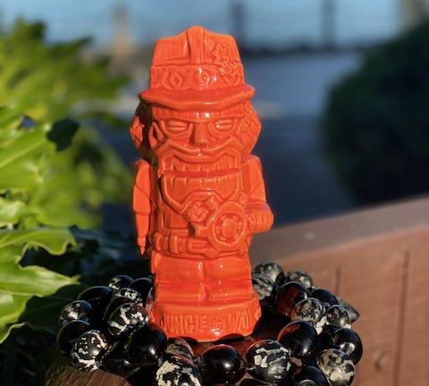 Holiday Tiki Mug from Trader Sam's Grog Grotto at Disney's Polynesian Village Resort