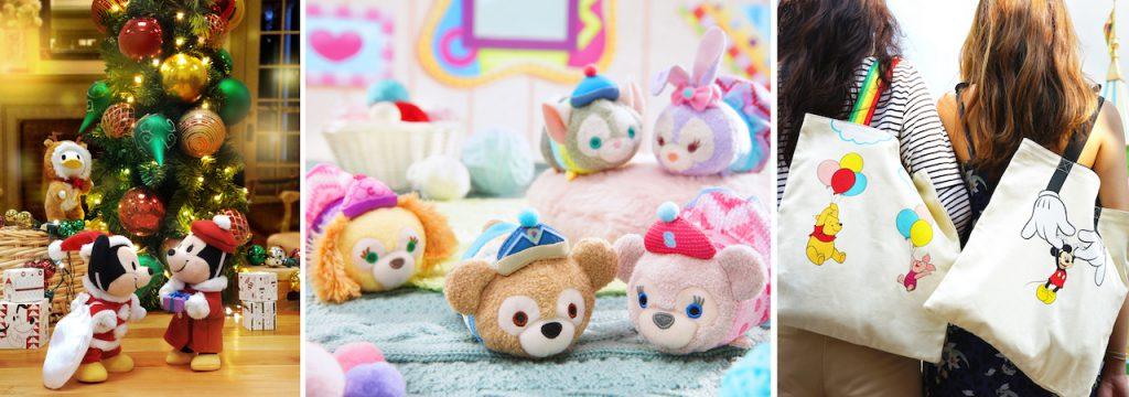 Holiday Merchandise from Hong Kong Disneyland Resort