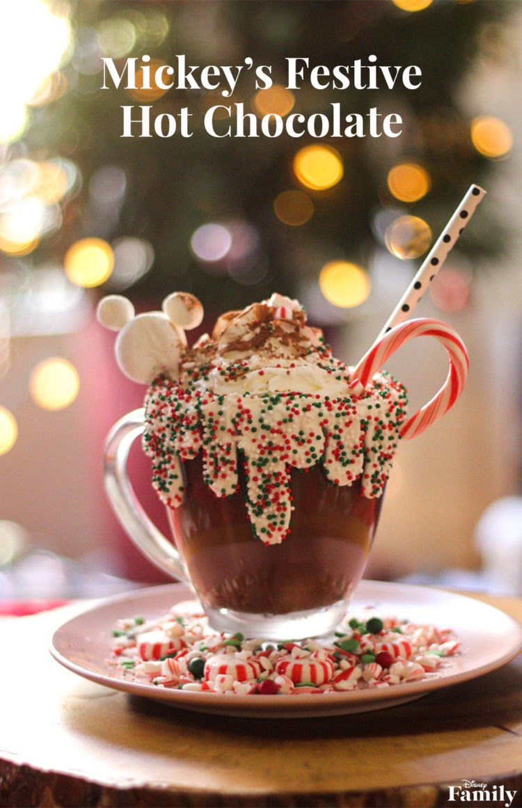 Mickey's Festive Hot Chocolate ~ DIY 2