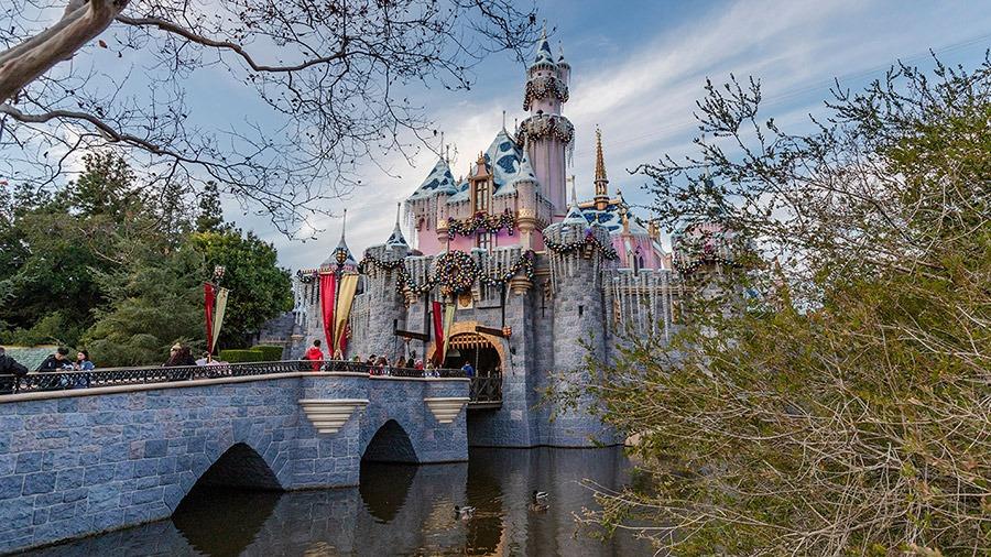 Sleeping Beauty's Winter Castle at Disneyland Park