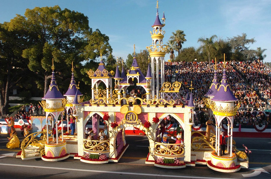 2005 Sleeping Beauty Castle in the Rose Parade