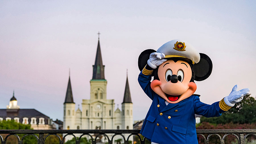 Disney Cruise Line cruising from New Orleans
