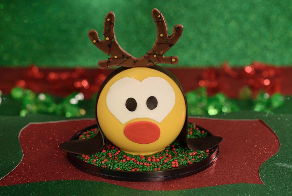 Reindeer Pluto Piñata from The Ganachery