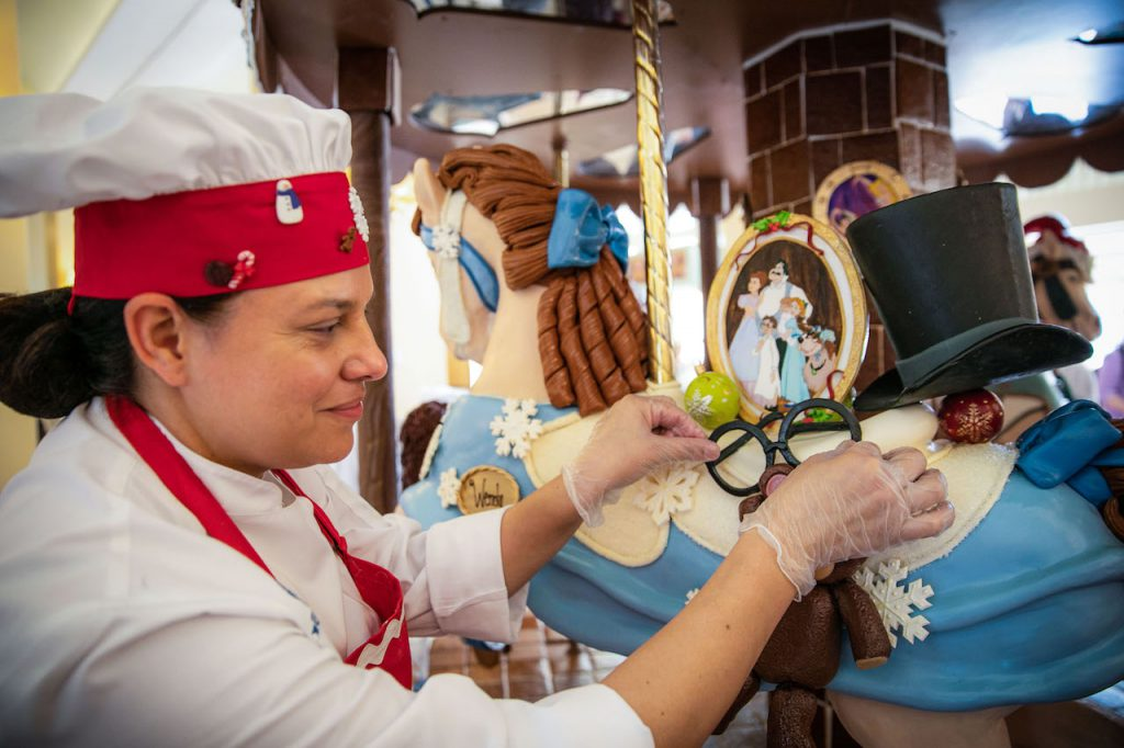 Assistant Pastry Chef Jesse Rodriguez at Disney's Beach Club Resort