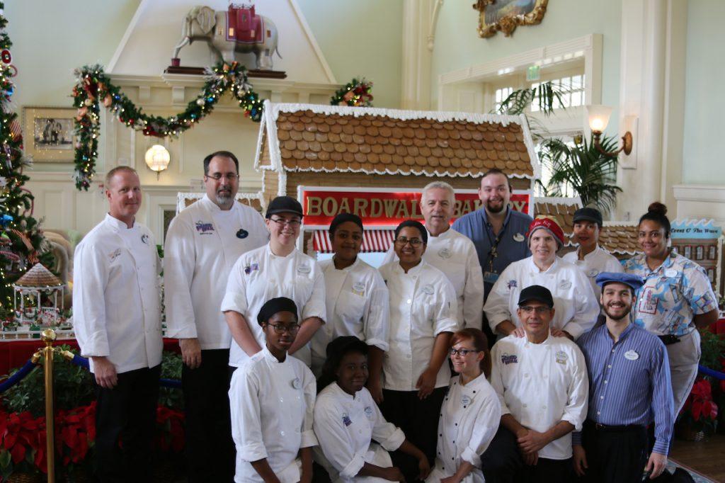 Disney's BoardWalk Pastry Team