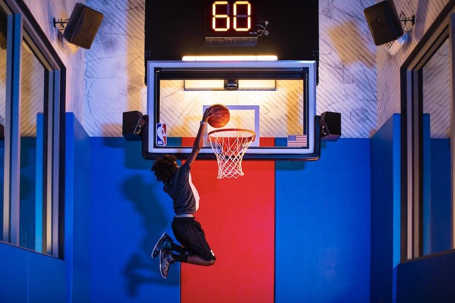 Slam Dunk at NBA Experience at Disney Springs