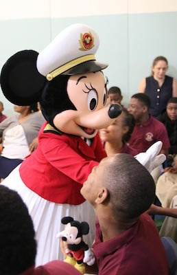 Disney Cruise Line Crew Members Spread Holiday Cheer in Local Port Communities