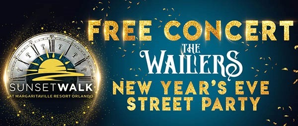 New Year's Eve FREE CONCERT Starring The Wailers + Street party and Fireworks Show #OffTMSM 1