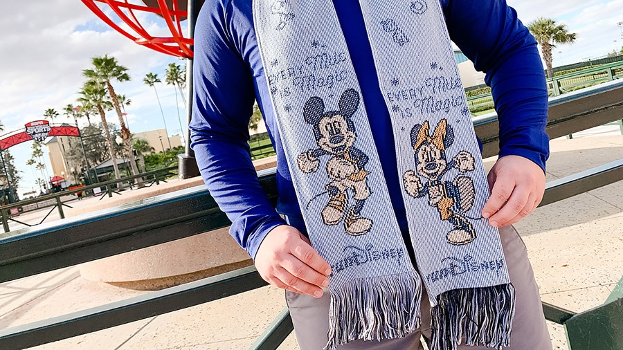 runDisney scarf
