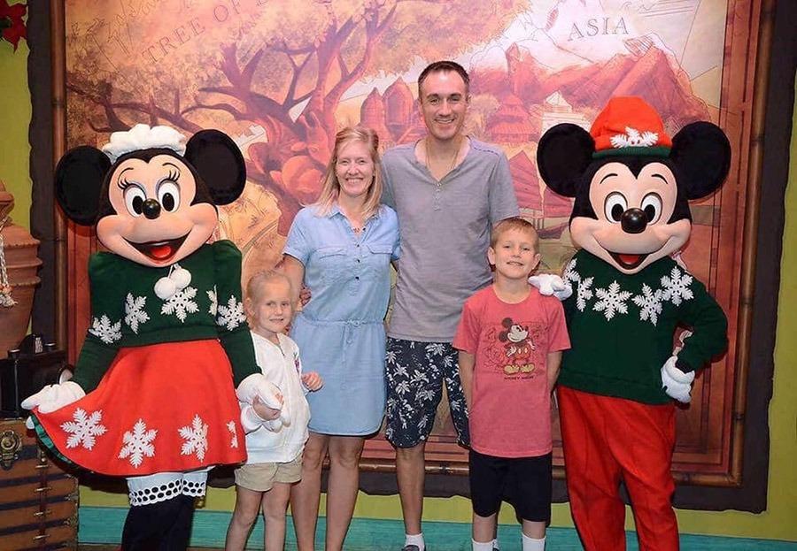 Disney Mom's Panelist Angie G's family