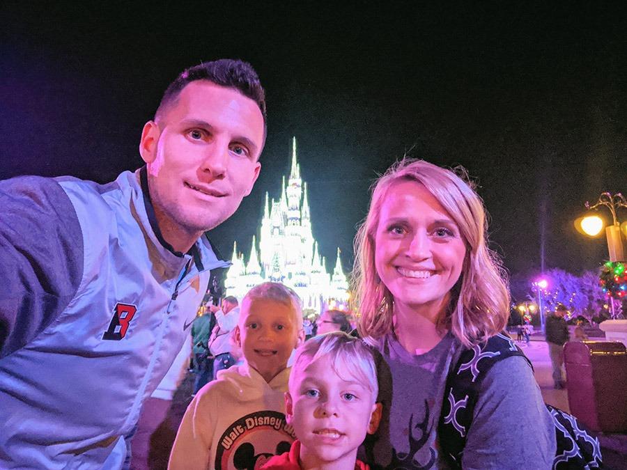 Disney Mom's Panelist Ashley P's family
