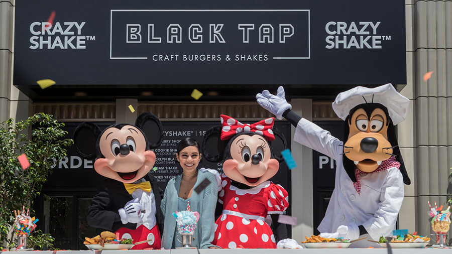 Black Tap Craft Burgers & Shakes in Downtown Disney District