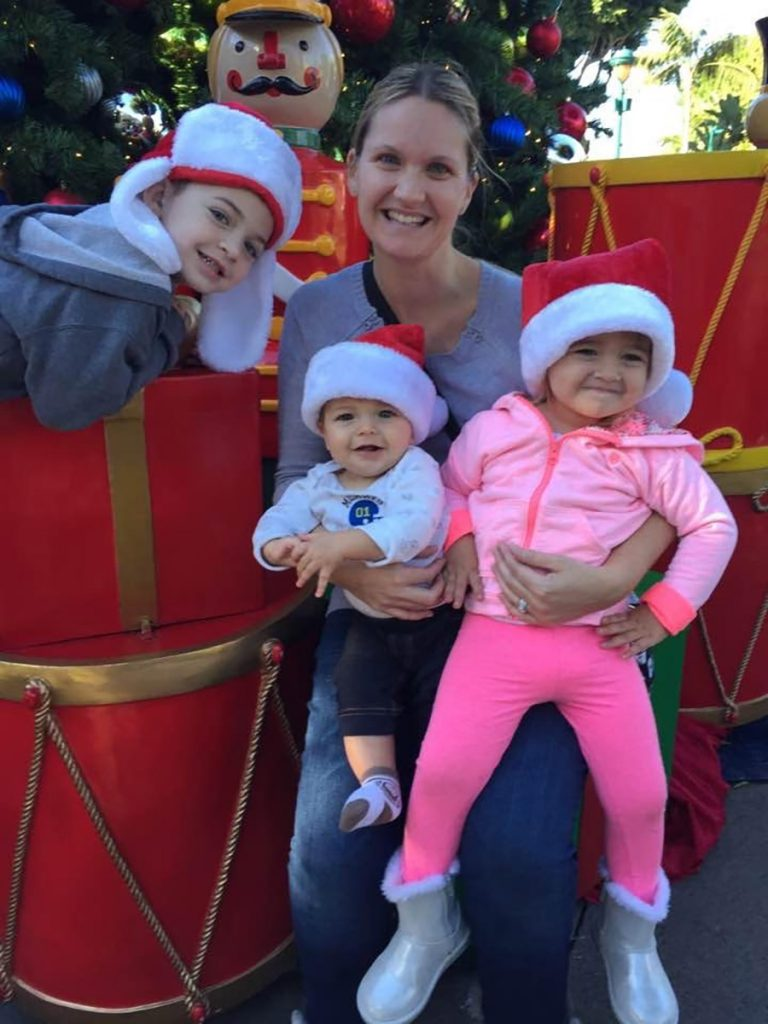 Disney Mom's Panelist Kristen's family