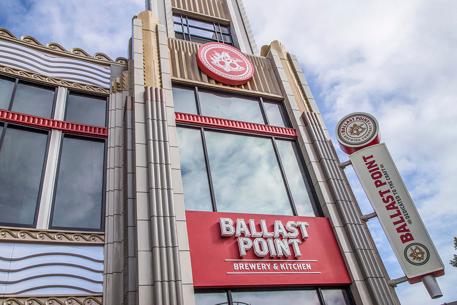 Ballast Point Brewing Company at Downtown Disney District