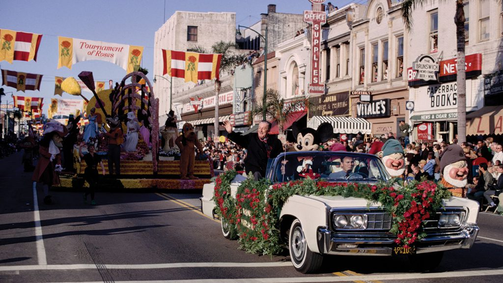 New Year's and the Rose Parade Disney History