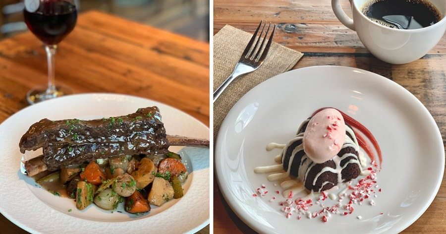 Christmas Day Offerings from Wine Bar George at Disney Springs