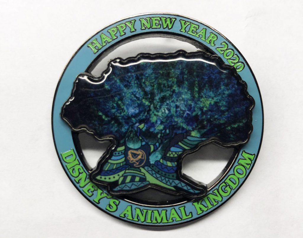 2020 commemorative pin from Disney's Animal Kingdom