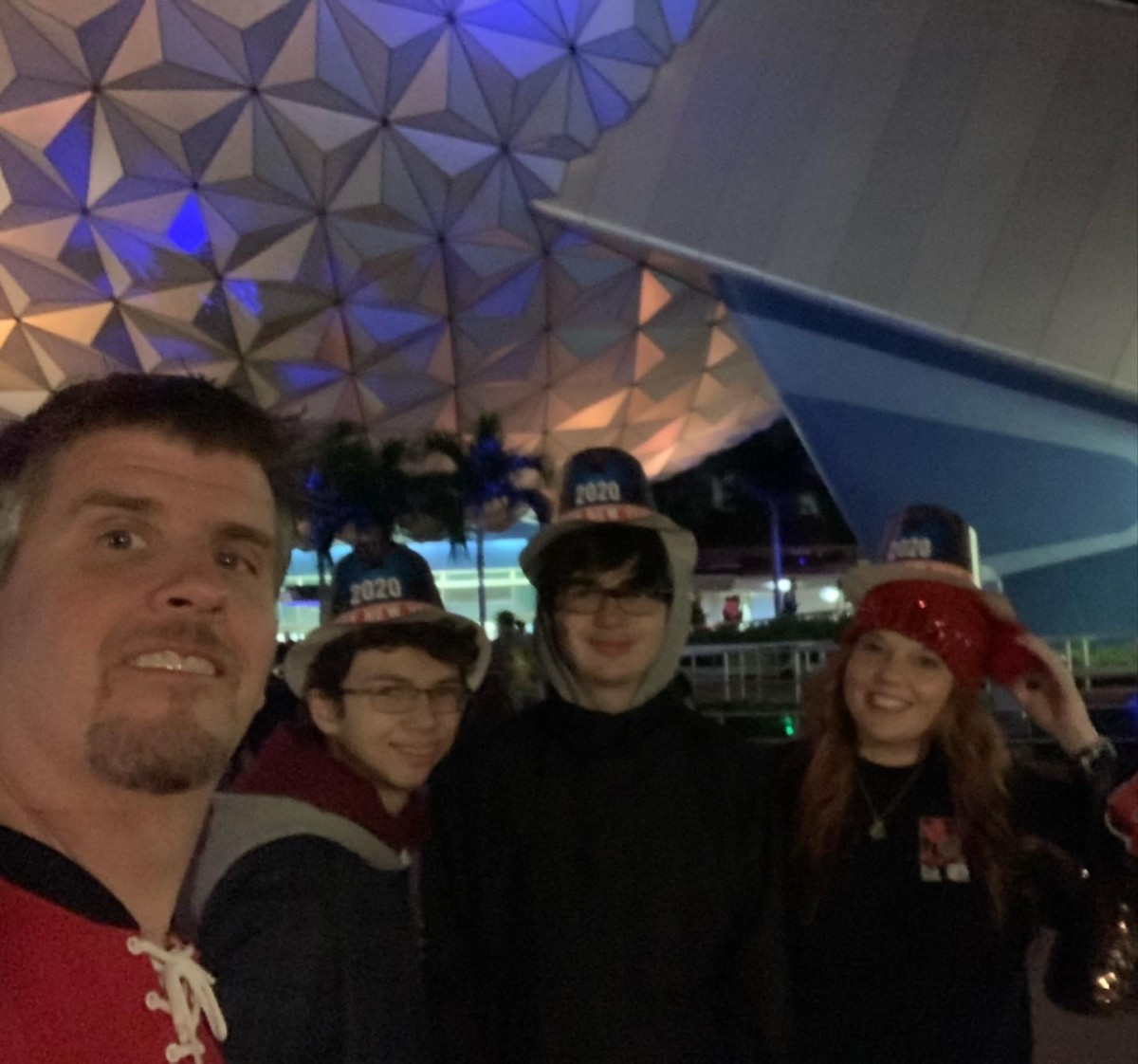 New Year's Eve at Epcot! Our experience! 9