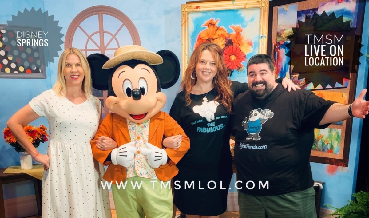 Disney Springs, Maria and Enzo's! January 26th with TMSM Live on Location! 2