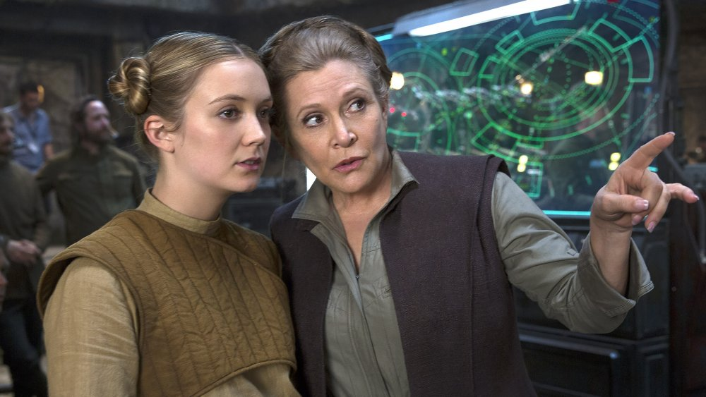 Carrie Fisher's daughter Billie Lourd briefly played young Leia in The Rise of Skywalker 1