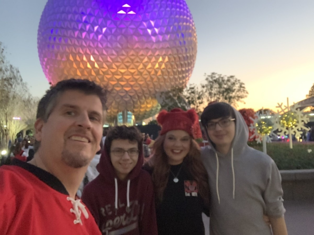 New Year's Eve at Epcot! Our experience! 2