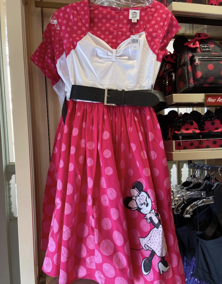 New Minnie Mouse Rock the Dots Dress at Disney Parks 1
