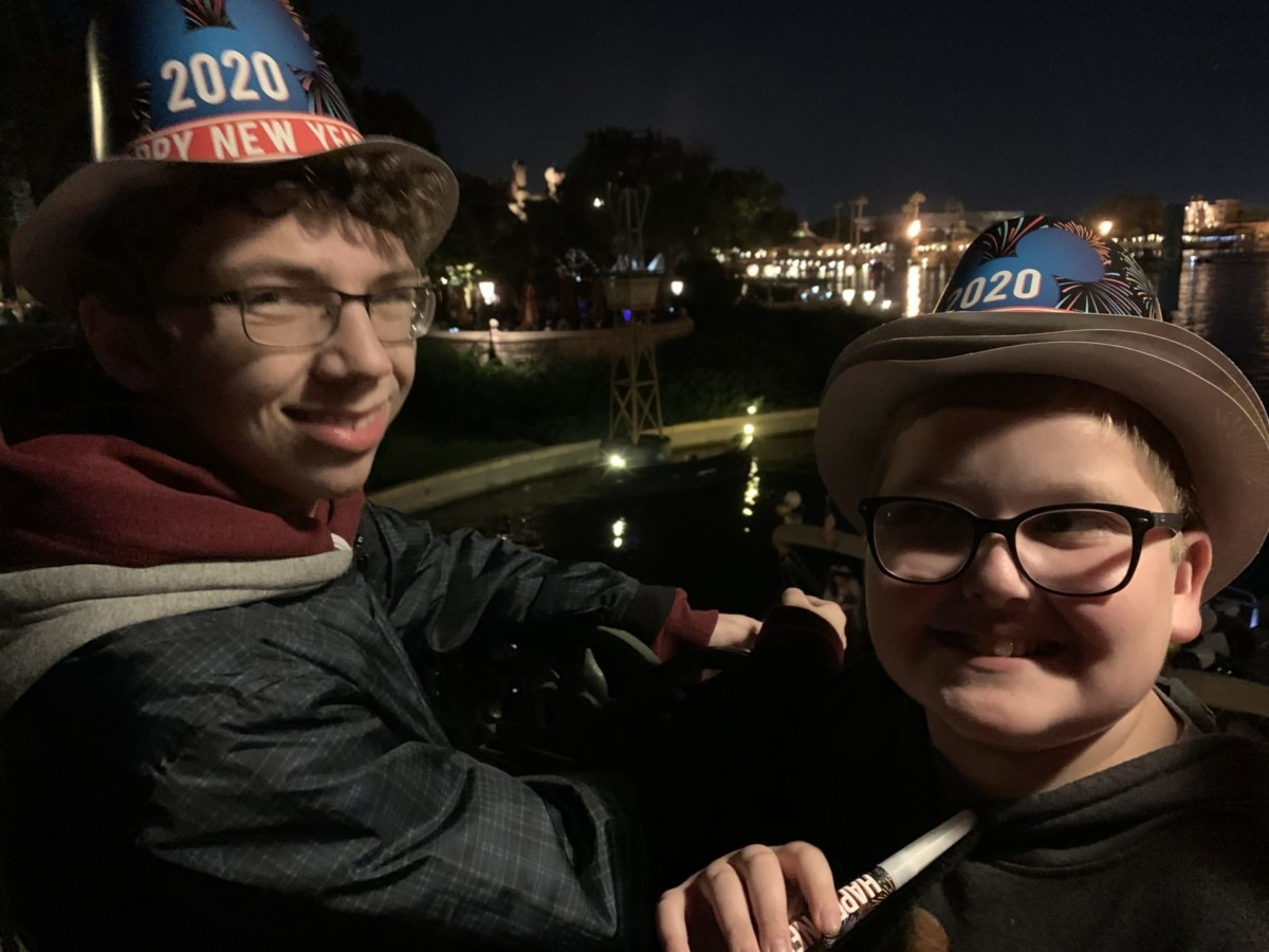 New Year's Eve at Epcot! Our experience! 6