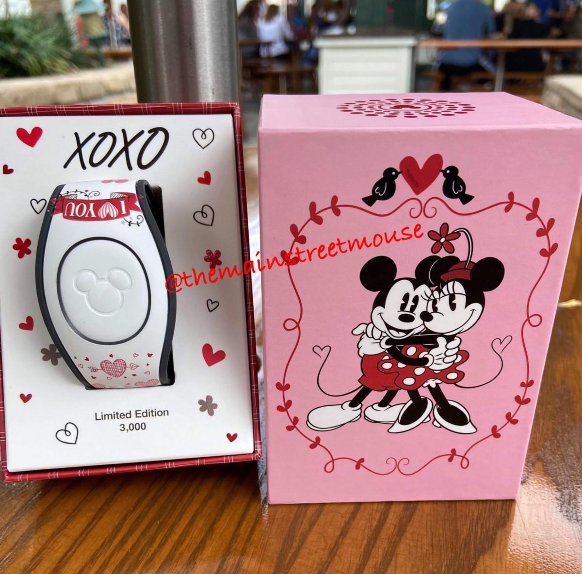 Mickey Loves Minnie Valentine MagicBands! 1