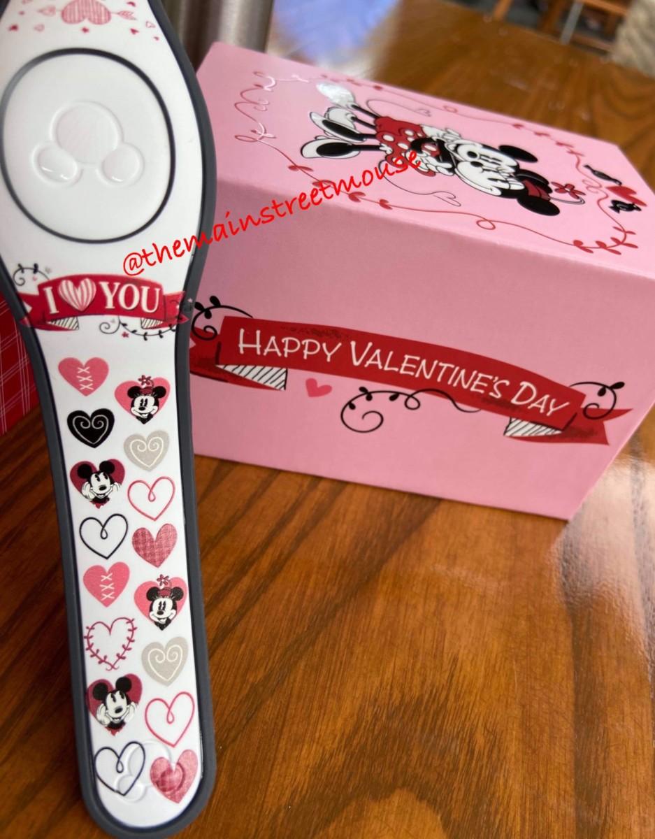 Mickey Loves Minnie Valentine MagicBands! 2