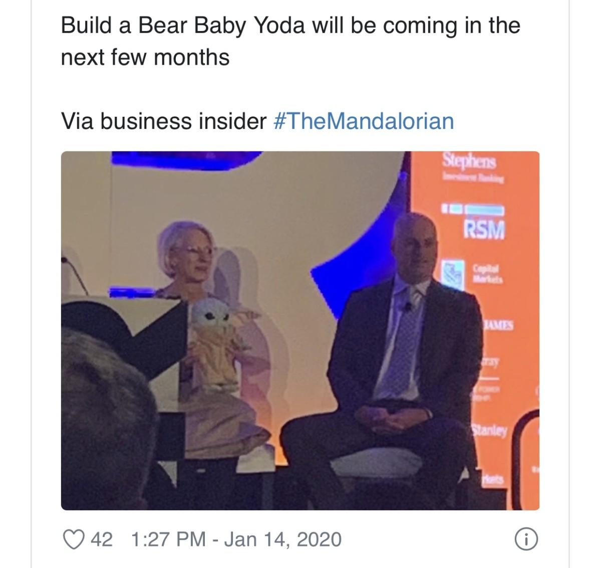 Build-A-Bear to Release a Baby Yoda Plush 3