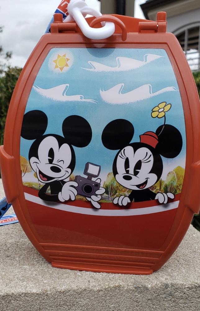 New Disney Skyliner Popcorn Buckets at Epcot 1