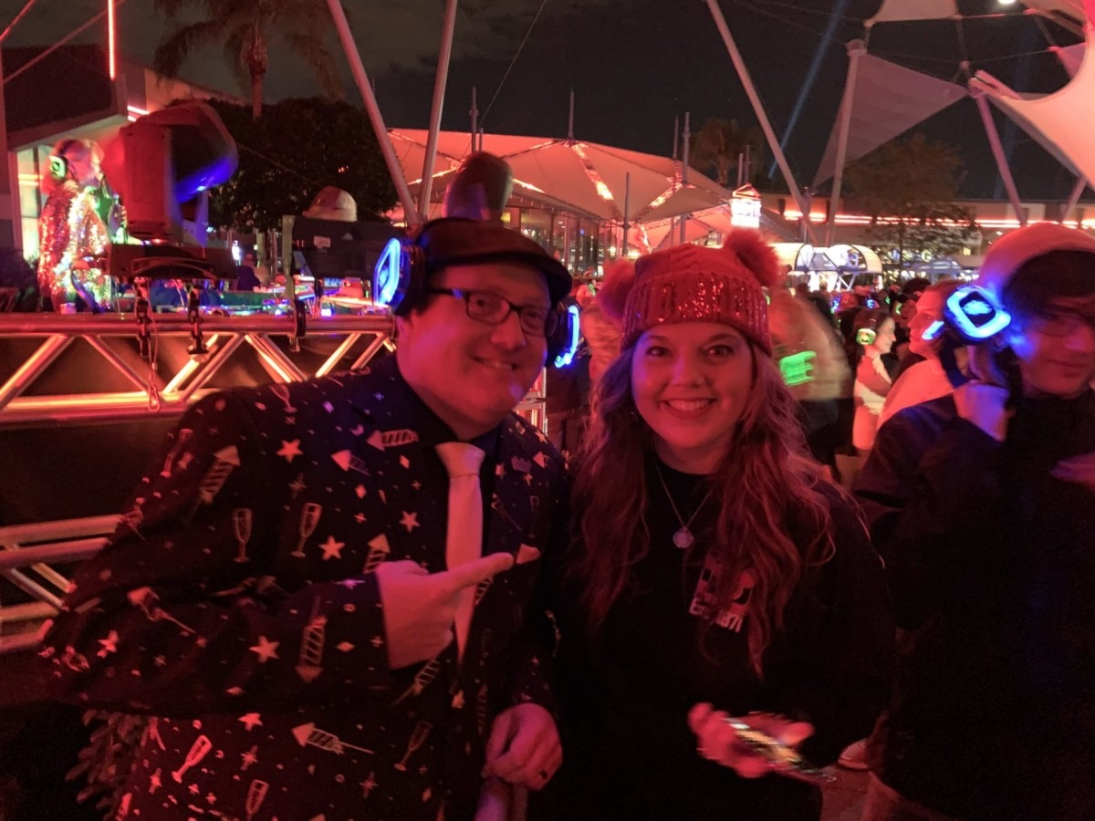 New Year's Eve at Epcot! Our experience! 5