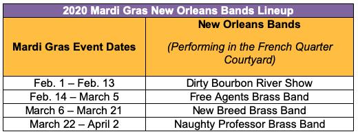 Marshmello, Luis Fonsi, TLC And More To Perform Live At Universal Orlando Resort's 2020 Mardi Gras Celebration 4