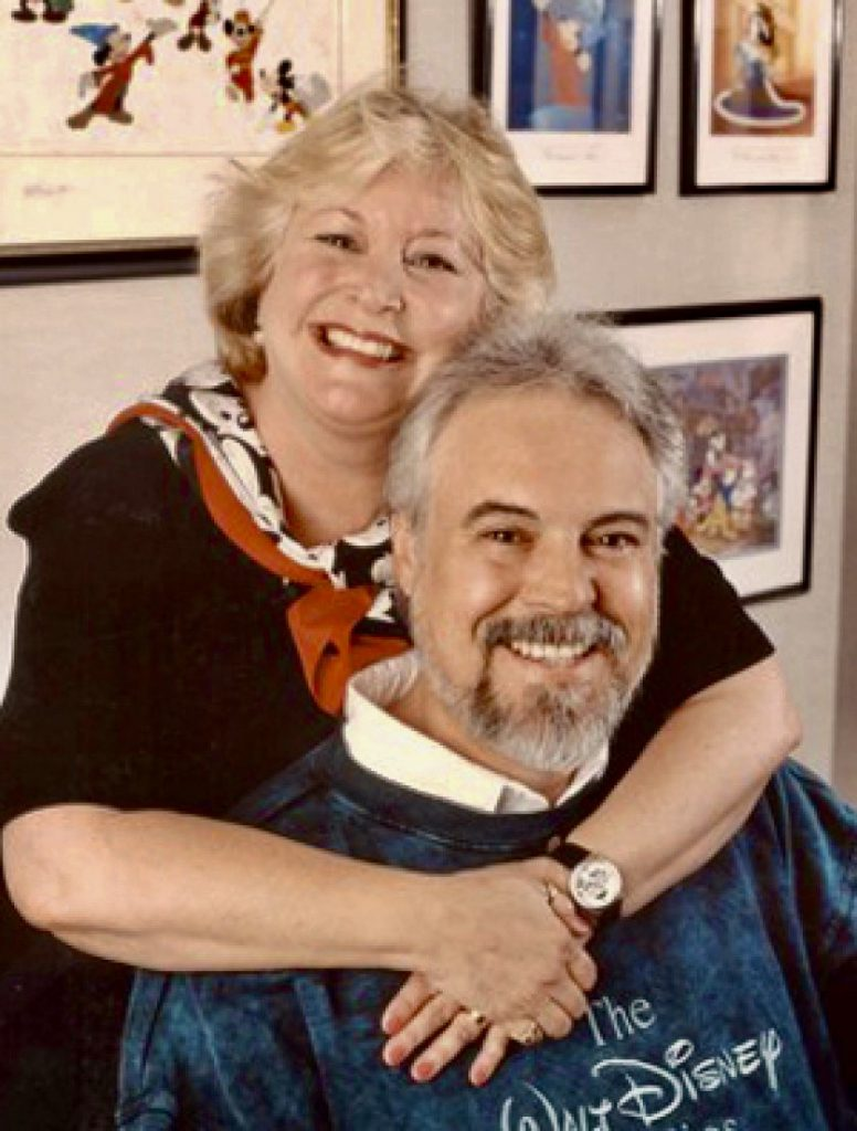 Disney Legends Wayne Allwine and Russi Taylor for decades brought their humor, music, personality, and fun to Mickey and Minnie Mouse. © Disney