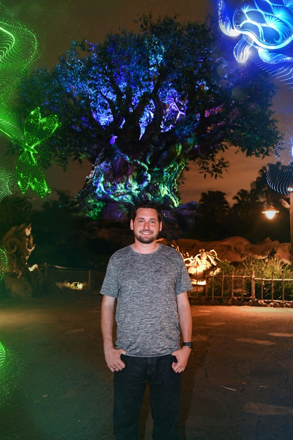 Tree of Life Disney PhotoPass Photo Op at Disney's Animal Kingdom