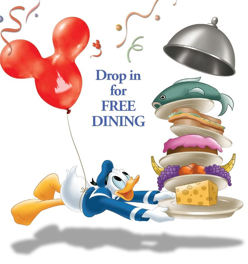 New FREE Dining and Room Discount offers for Walt Disney World! 1