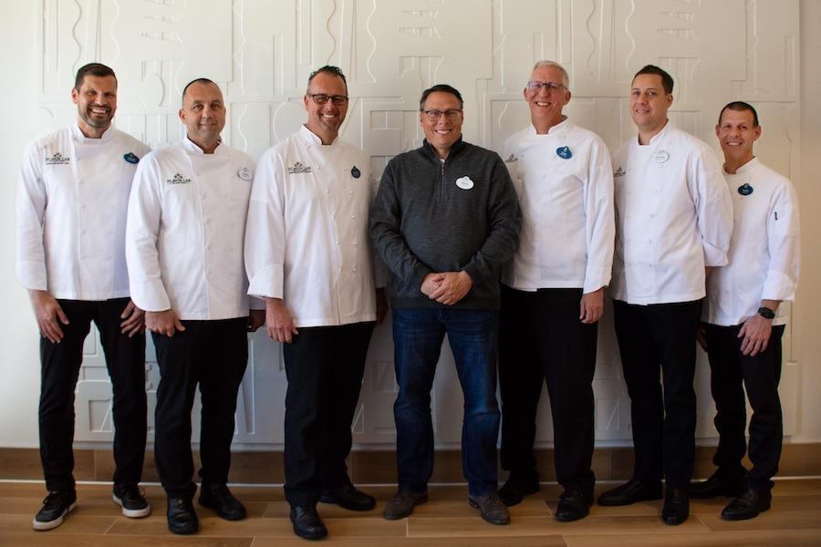 Walt Disney World Resort Food & Beverage Concept Development Team for Chef's Night for Second Harvest Food Bank