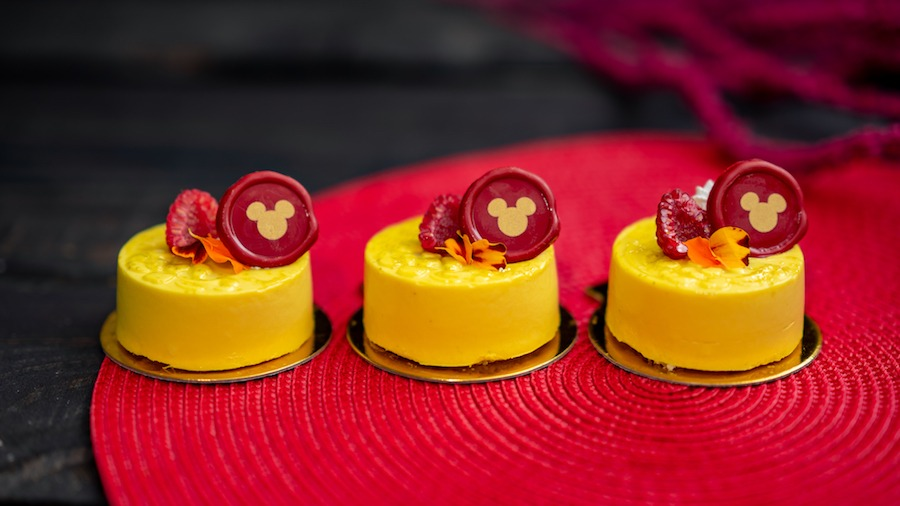 Mango Mousse from Paradise Garden Grill for Lunar New Year 2020 at Disney California Adventure Park