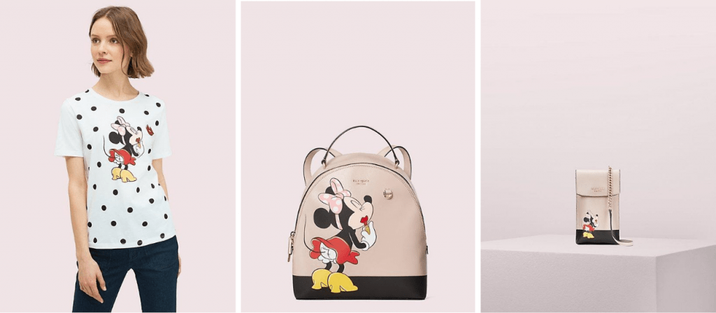Minnie Mouse collection by Kate Spade