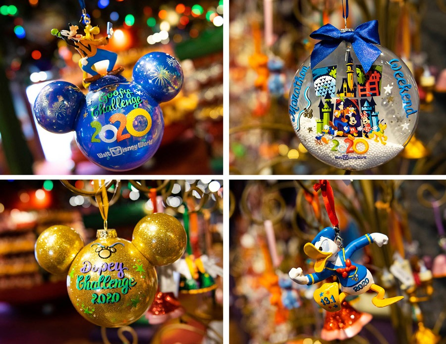 Personalized ornaments from Disney's Days of Christmas at Disney Springs