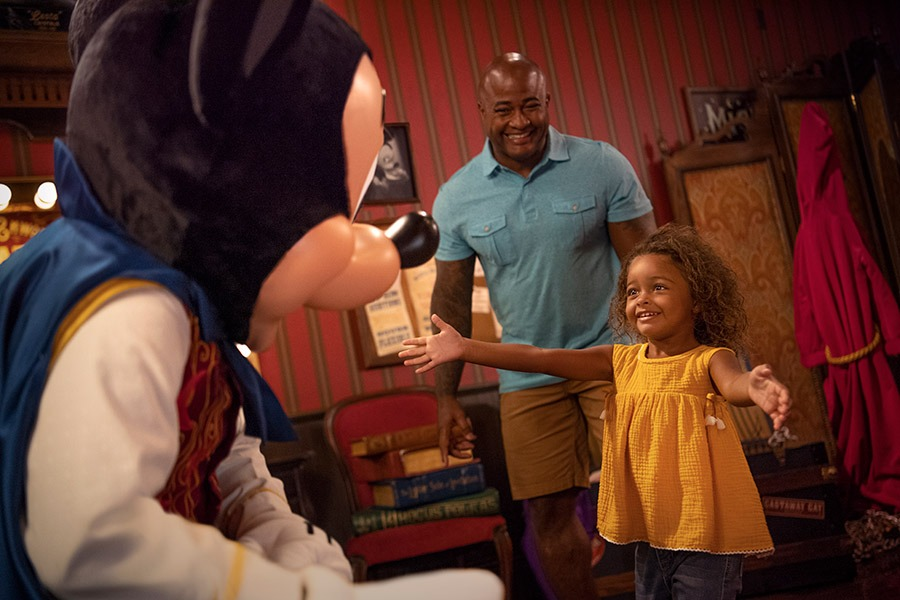 character experiences at Walt Disney World